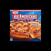 Dr. Oetker Big Americans pizza kebab (alleen beschikbaar binnen Europa)
