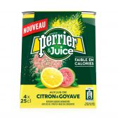 Perrier Lemon and guave refreshing drink