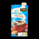 Jumbo Semi-skimmed coffee milk mild