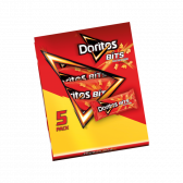 Doritos Bits twisties honey BBQ chips 5-pack