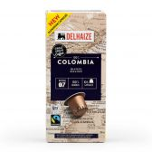 Delhaize Colombiaanse koffiecapsules fair trade klein