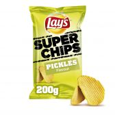 Lays Pickles ribbled superchips