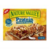Nature Valley Protein, coconut and almond bars