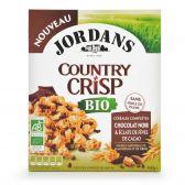 Jordans Biologische knapperige chocolade ontbijtgranen