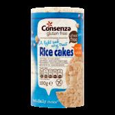 Consenza Pure & free glutenvrije rijstwafels