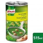 Knorr Kervelsoep met balletjes klein