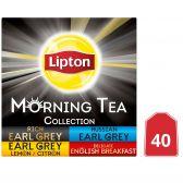 Lipton Earl grey zwarte thee assortiment piramides