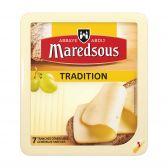 Maredsous Traditionele abdijkaas plakken