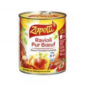 Zapetti Fresh paste pure beef ravioli large