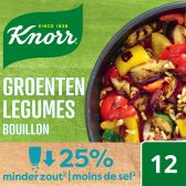 Knorr Vegetable stock with low in salt