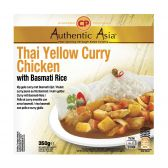 Authentic Asia Chicken yellow curry jasmin rice