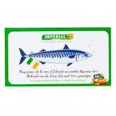 Imperial Biologische makreel groentjes in olijfolie