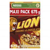 Nestle Lion chocolade en karamel ontbijtgranen