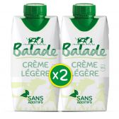 Balade Light cream culinary 2-pack (at your own risk)