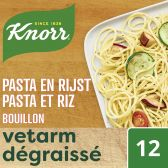 Knorr Finesse bouillon with pasta and rice