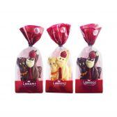 Libeert Gekleurde chocolade figuur (voor uw eigen risico, geen restitutie mogelijk)