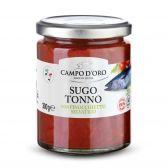 Campo d'Oro Tuna and fennel with tomato sauce
