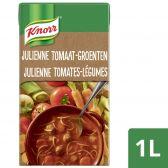 Knorr Grootmoeders geheime julienne soep met tomaten, groenten en balletjes