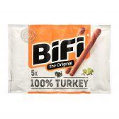 Bifi Smoked dry turkey sausage family pack