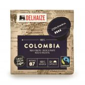 Delhaize Colombiaanse koffiecapsules fair trade groot