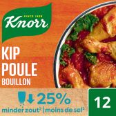 Knorr Chicken stock with low in salt