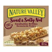 Nature Valley Granola with sweet and salted peanut bars