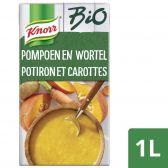 Knorr Biologische pompoen wortel soep