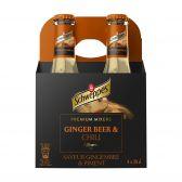 Schweppes Premium mixer tonic gember bier & chili