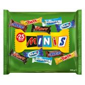 Mars Chocolade mixed mini's
