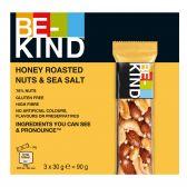 Be-Kind Roasted honey, nuts and seasalt bars