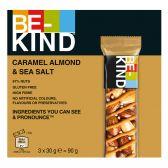 Be-Kind Caramel, almond and seasalt bars