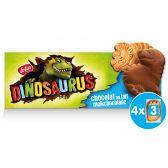Lotus Milk chocolate dinosaurus cookies
