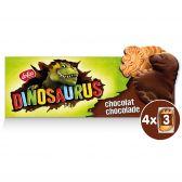 Lotus Chocolate dinosaurus cookies