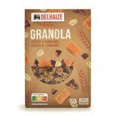Delhaize Granola met chocolade en karamel