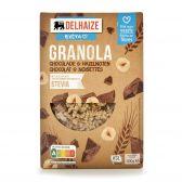 Delhaize Granola met chocolade en noten stevia