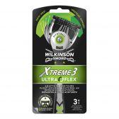 Wilkinson Sword Disposable electric razor with 3 razor blades