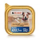 Delhaize Gevogelte terrine hondenvoeding klein