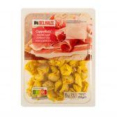 Delhaize Cappelletti met ham (voor uw eigen risico, geen restitutie mogelijk)