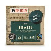 Delhaize Braziliaanse koffiecapsules fair trade groot