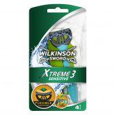 Wilkinson Sword Xtreme 3 sensitive razor blades
