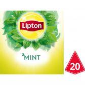 Lipton Munt kruidenthee piramides