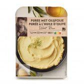 Delhaize Aardappelpuree met olijf (voor uw eigen risico, geen restitutie mogelijk)