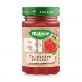 Materne Organic strawberry marmalade