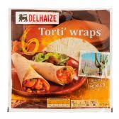 Delhaize 6 Tortilla wraps