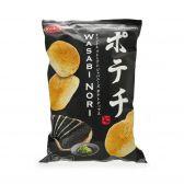 Koikeya Wasabi nori crisps