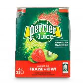 Perrier Strawberry and kiwi refreshing drink