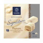 Ijsboerke Leonidas manon white ice cream (only available within the EU)