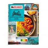 Delhaize Indiasa rijst met kip tikka masala (voor uw eigen risico, geen restitutie mogelijk)