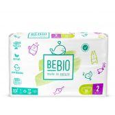 Bebio Ecologische mini luiers (vanaf 3 kg tot 6 kg)