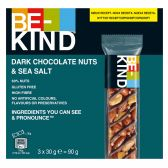 Be-Kind Dark chocolate, nuts and seasalt bar